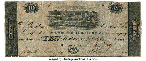 Bank of St. Louis 1817 note