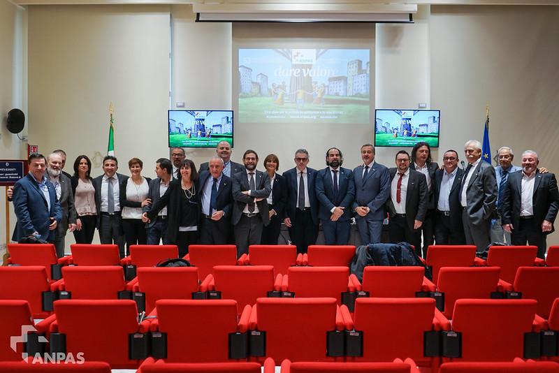 Dare Valore alla solidarietà: Anpas incontra i Parlamentari, Roma 8 novembre