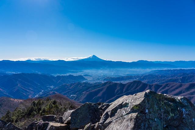 富士山@乾徳山