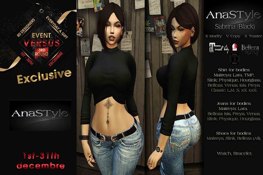 Versus Event Exclusive Anastyle - TeleportHub.com Live!