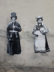 Graffiti Outside Trafó House, Budapest