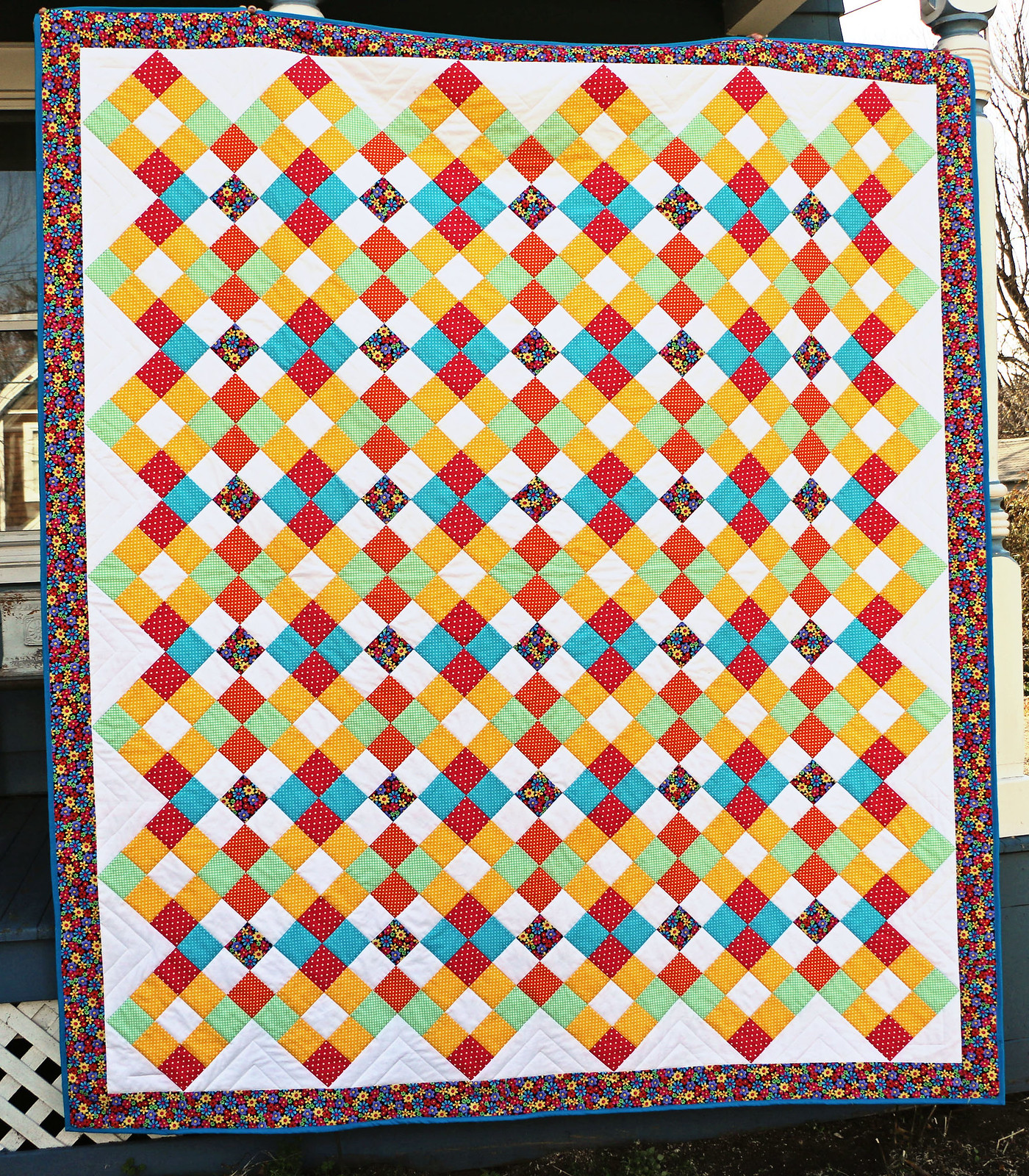 Barbara's Nancy Quilt