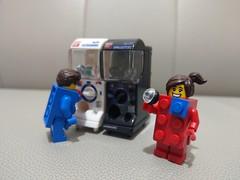 ガシャポン  Gashapon Machines x Lego