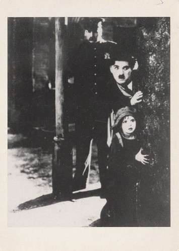 Charlie Chaplin and Jackie Coogan in The Kid (1921)