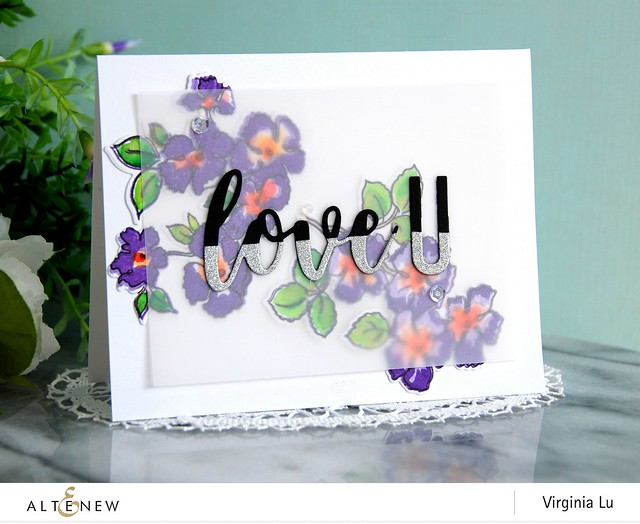 Altenew-RuffledFlowersStampDie-Virginia#7