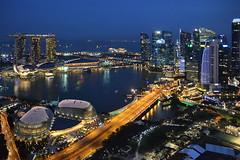 Singapore Stamford Hotel View