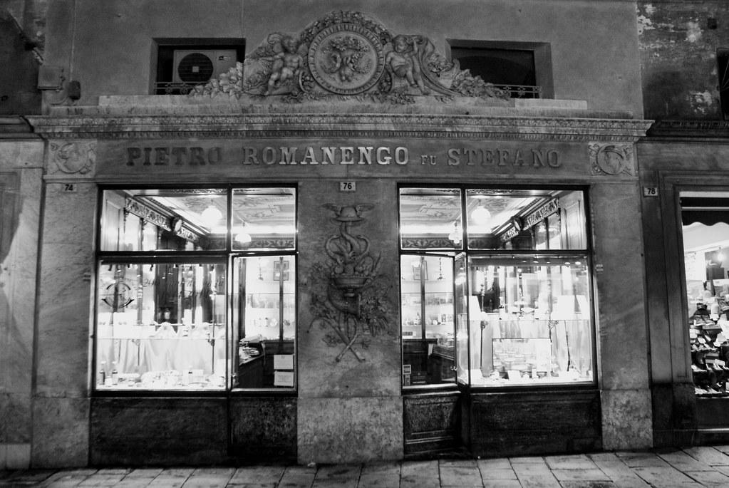 > Confiserie Pietro Romanengo fu Stefano à Gênes.