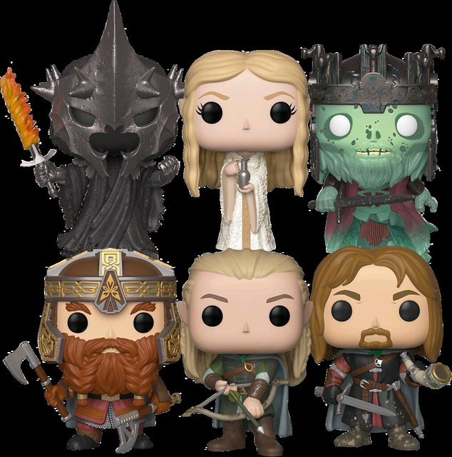 終於可以湊齊「大頭遠征隊」啦XD~~ Funko Pop! Vinyl《魔戒》The Lord of the Rings
