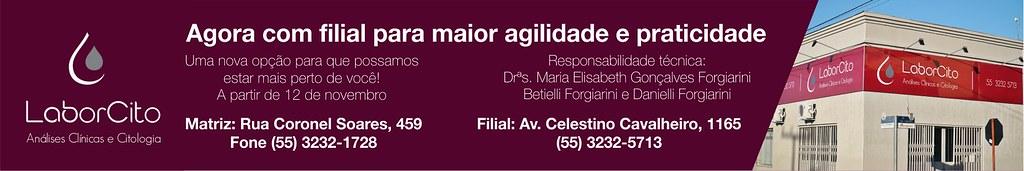 A partir de segunda-feira, 12 de novembro, LaborCito com filial!