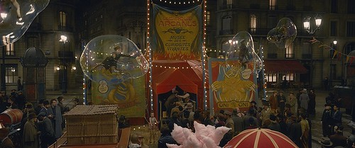 The circus, from A First Look at Fantastic Beasts: The Crimes of Grindelwald