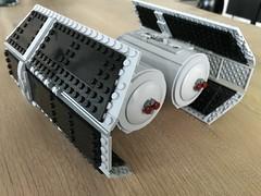 lego tie bomber moc (IRL)