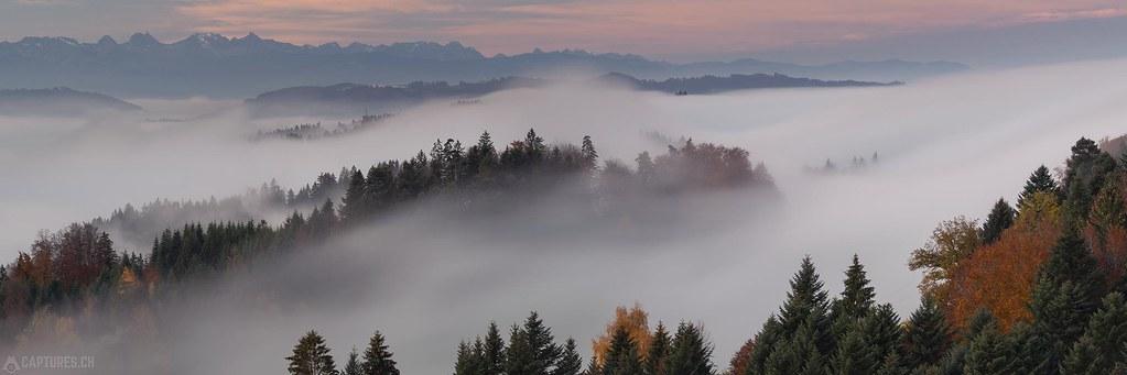 Fog panorama - Lueg