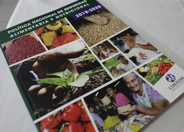 Lanzamiento Oficial de la Política de Seguridad Alimentaria y Nutricional.