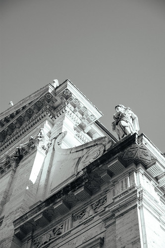 "Image titled ""Roman Architecture. (B&W)"""