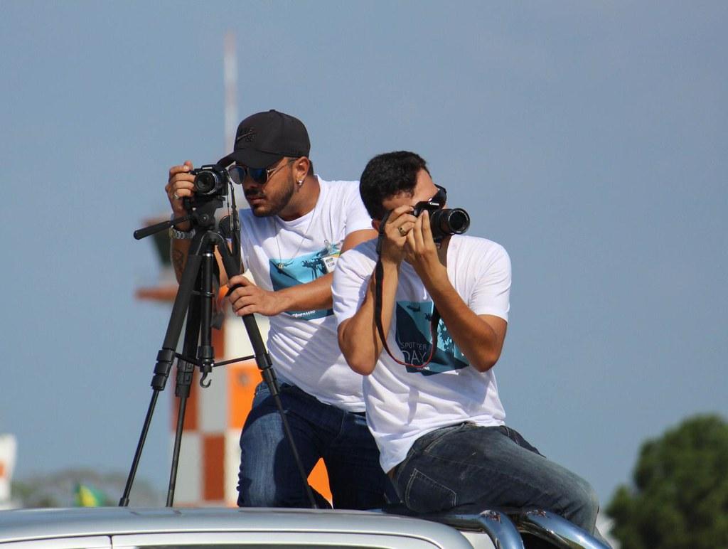 Paraense participa hoje do Spotter Day no aeroporto Eduardo Dias, em Manaus , Spotter Angela Madson