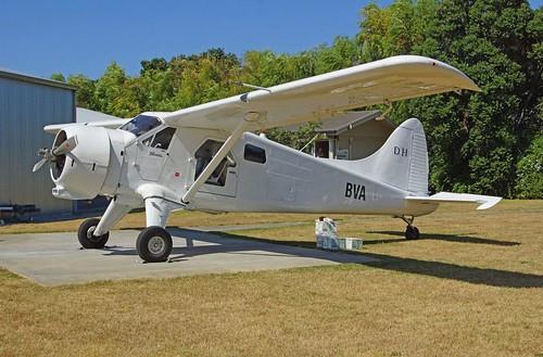 DH Beaver ZK-BVA at Gisborne LHS
