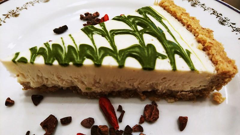 ヴェガンチーズタルト(ヴェガンチーズケーキ)@Glutenfree Restaurant CHOICE(チョイス)@2019.01.27