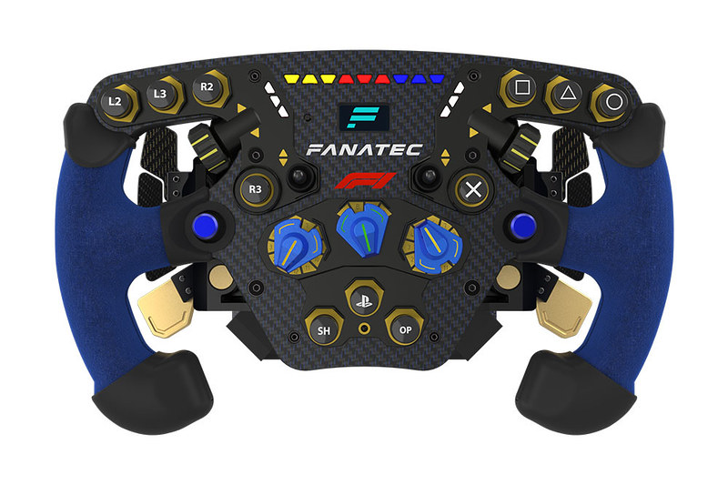 Podium Racing Wheel F1 Officially licensed for PS4 Front