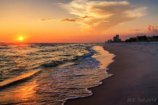 Summertime beach @ Panama city beach