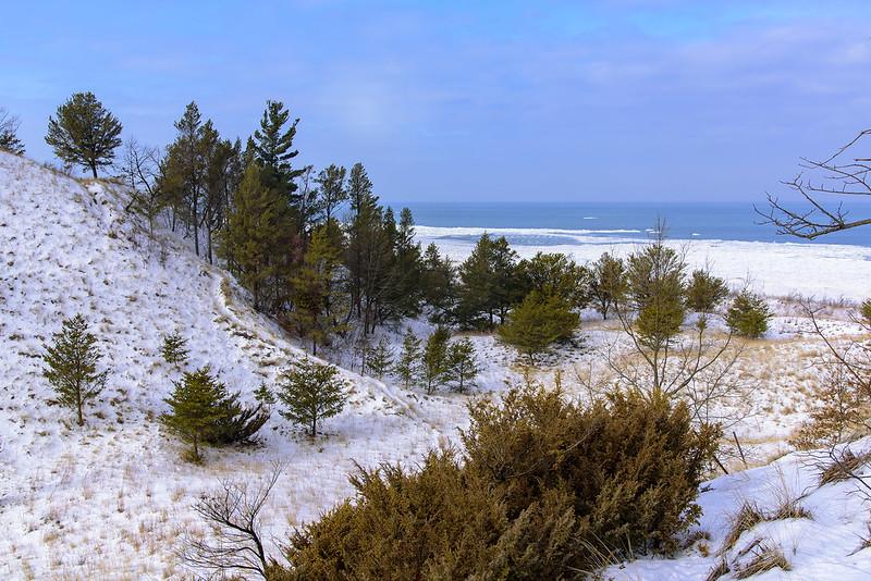 Drift Ice on Lake Michigan
