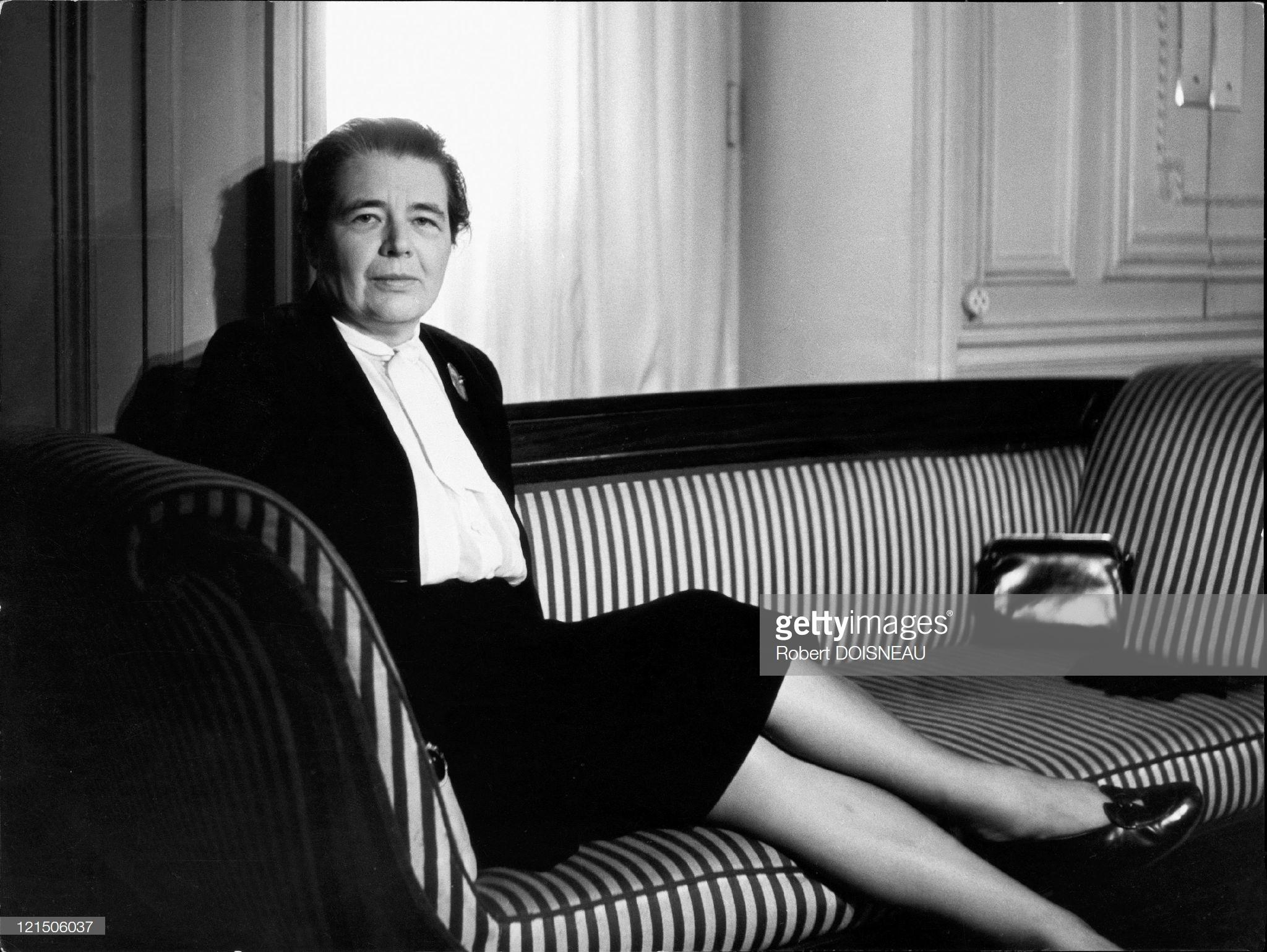 1955. Маргерит Юрсенар — французская писательница