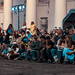 People watching a white night street performance, Elagin island, candid (St. Petersburg, Russia) #115, 08-2018, (Vlad Meytin, vladsm.com)