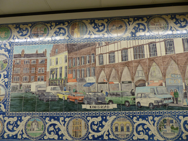 kings road mosaique