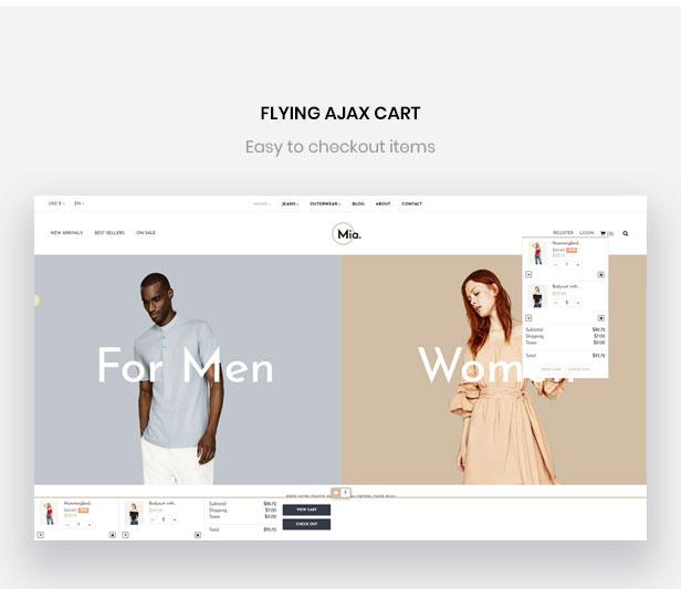 flying ajax cart