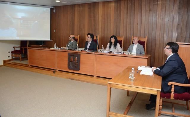 Tres abogados reciben el grado de Magister en Derecho mención en Constitucionalismo y Derecho