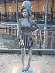Amy Winehouse Statue Camden Town London Feb 2019