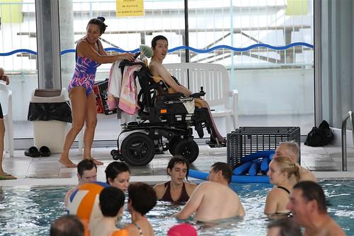 Le SSID anime des activités aquatiques pour les jeunes et les adultes en situation de handicap