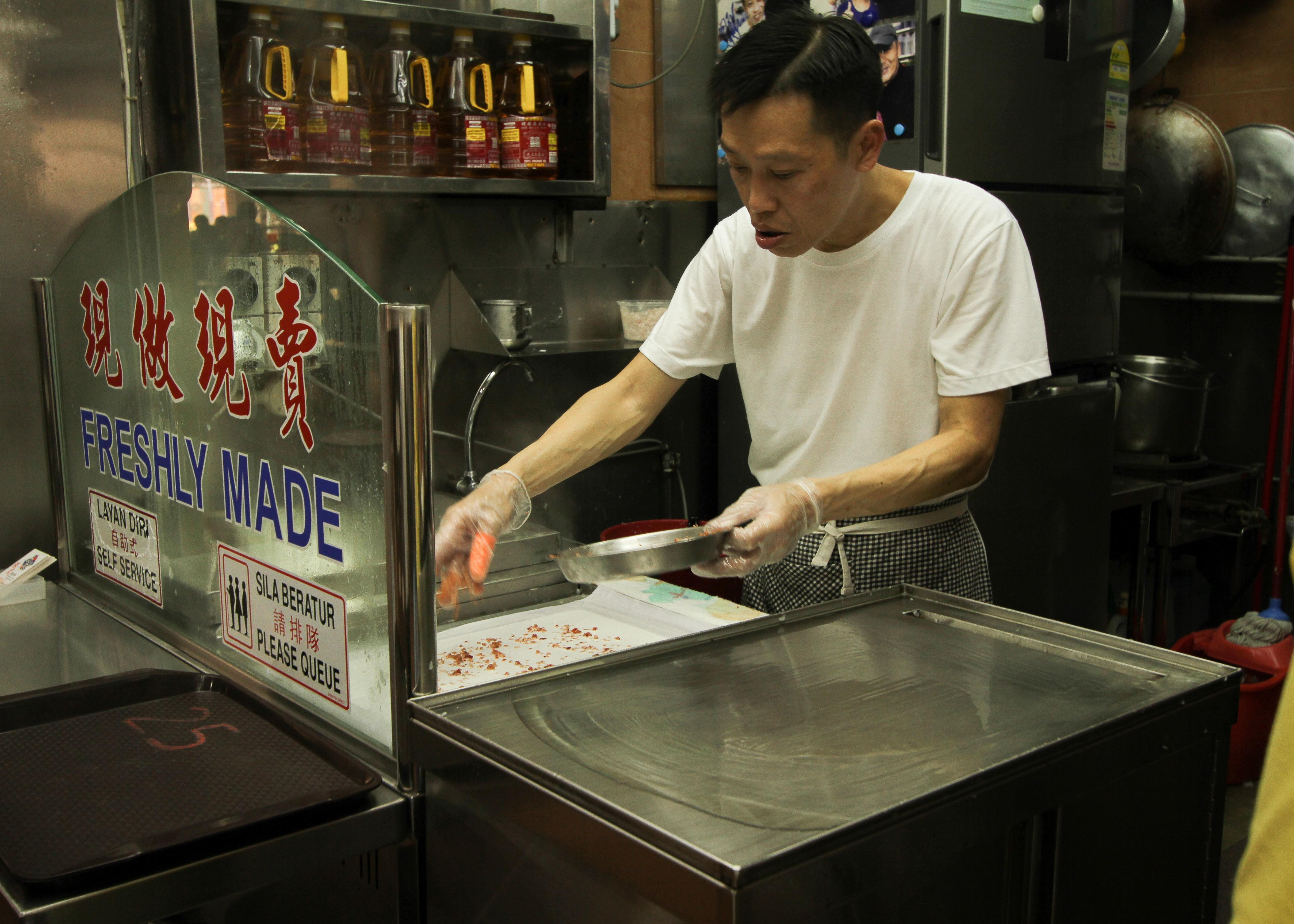 Pin Wei Chee Cheong Fan-准备