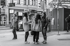 Teen girls on the streets of Vienna