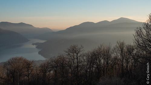 Santa Maria d'Iseo (Ticino) - vue vers le Sud (26/12/2018 -04)