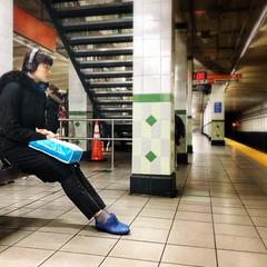 Subway Scene.