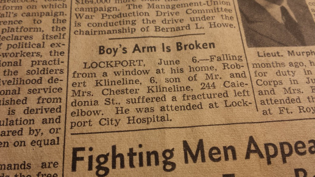 Buffalo News Tuesday June 6 1944