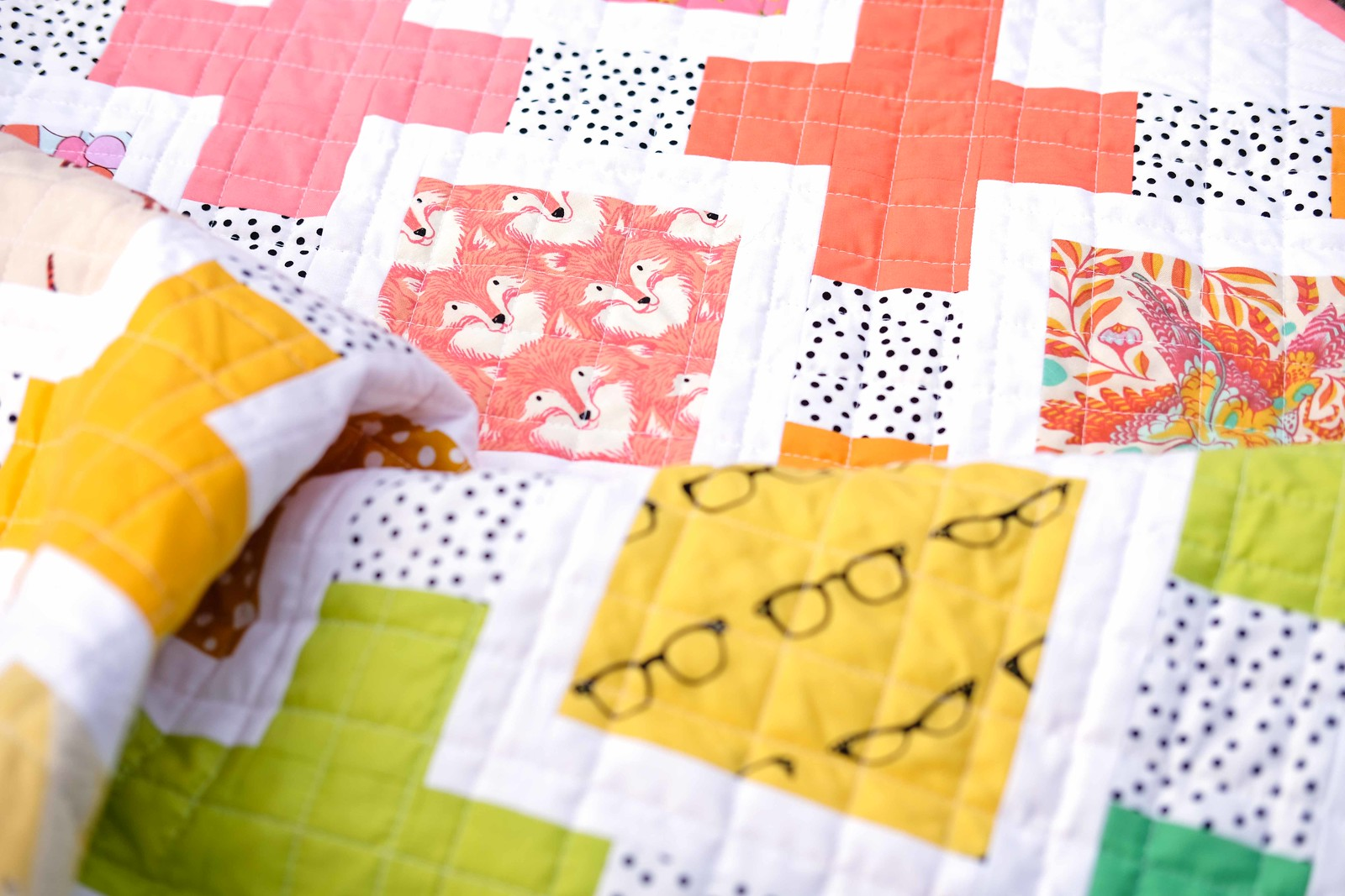 I-Spy Olivia Quilt - Kitchen Table Quilting