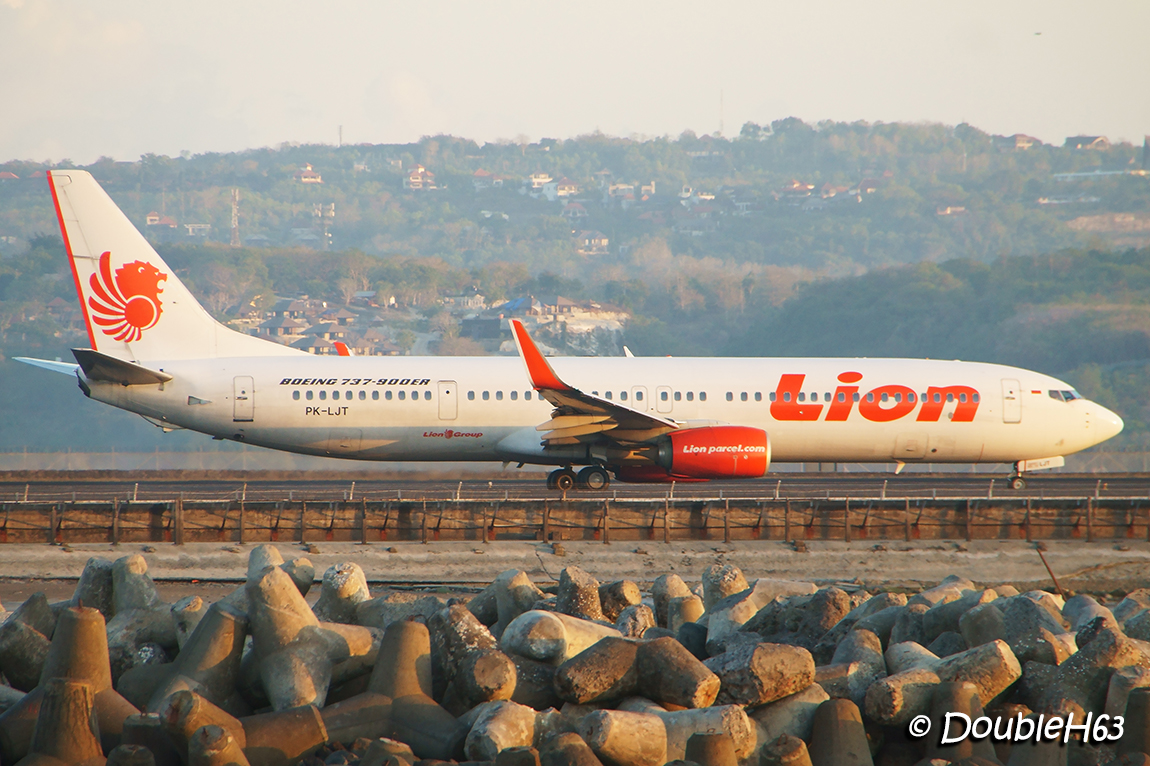 PK-LJT B739 Lion Air DPS