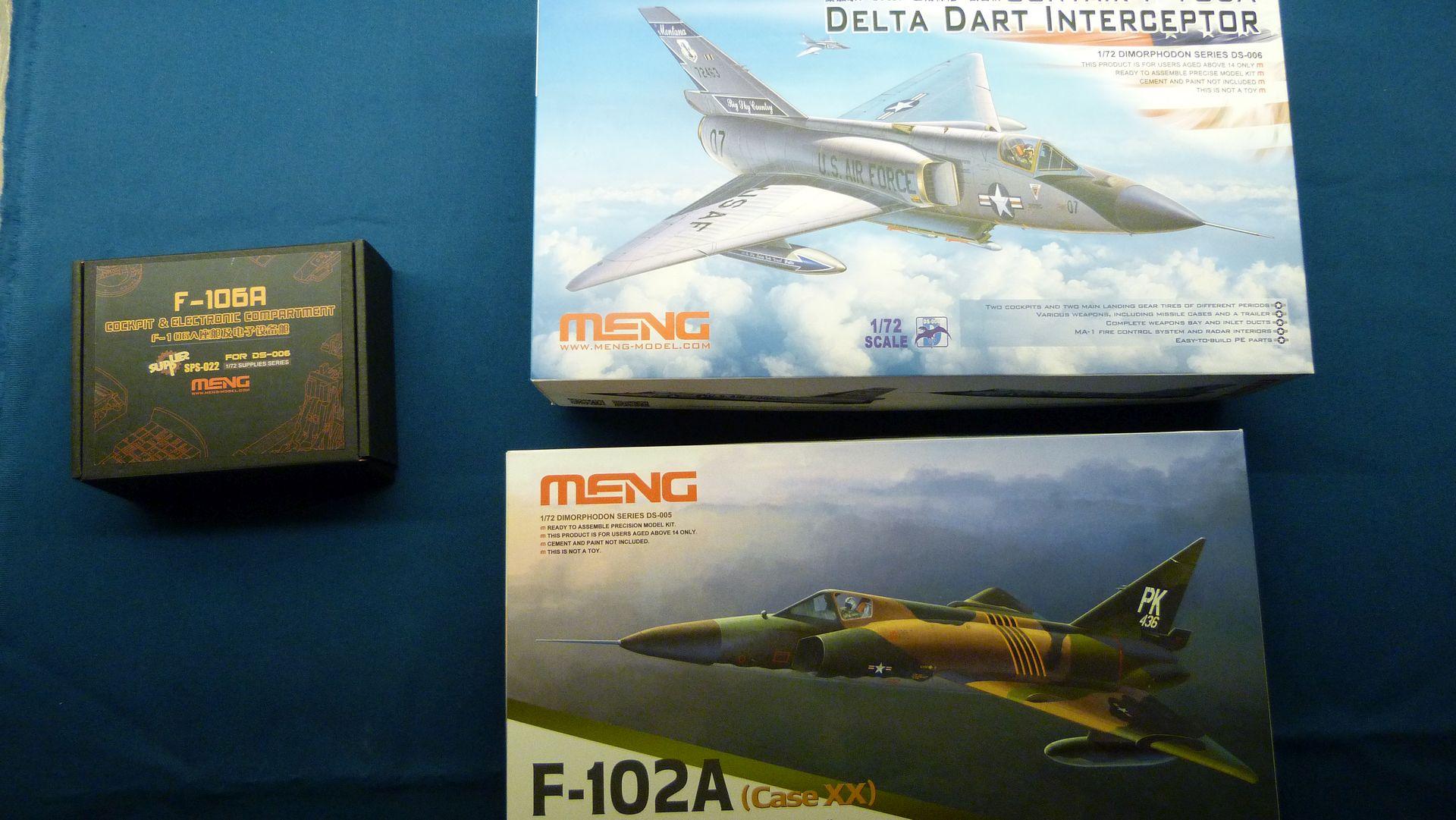 Meng Deltavingar, F-102 och F-106, 1/72 32010328968_126bf48621_o