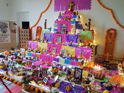 Consulado celebra con la comunidad mexicana el Día de Muertos en Frankfurt, Múnich y Stuttgart