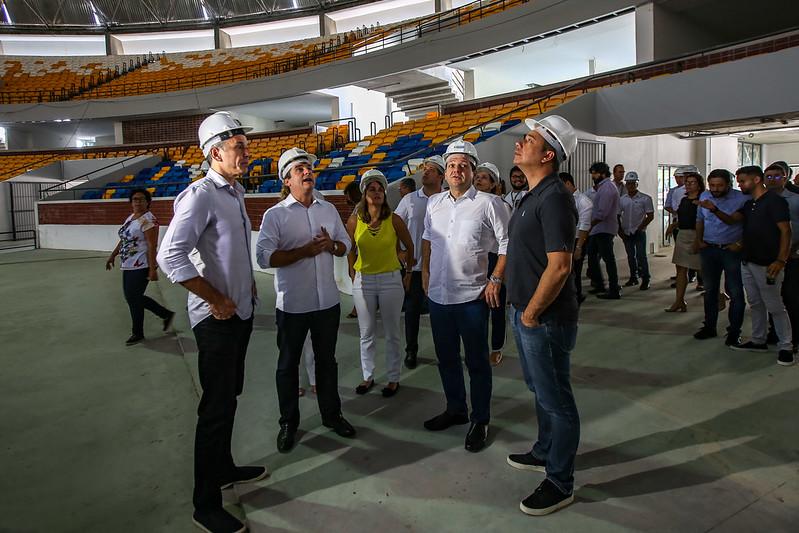 Visita ao Ginásio Geraldão e ao Centro Esportivo Santos Dumont, em Recife