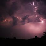 3. Juuli 2015 - 1:29 - Thunderstorm, Rosendahl, Germany, 03-07-2015  01:45 - 3:00 a.m.
