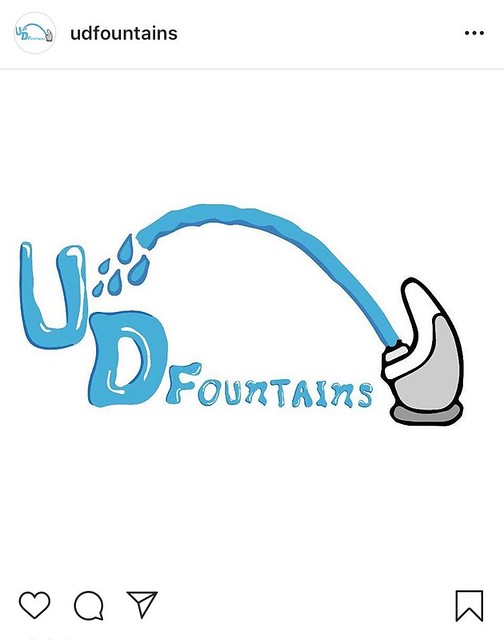 @udfountains: Dry humor, wet content