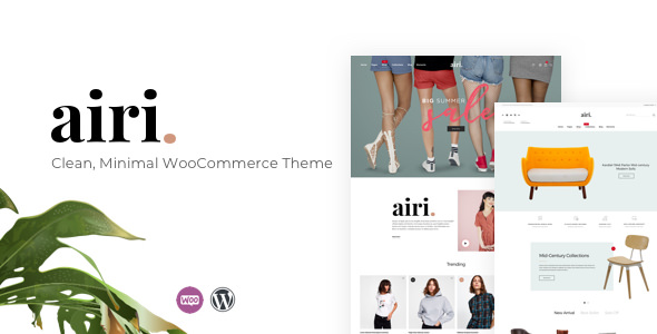 Airi v1.0.6 - Clean, Minimal WooCommerce Theme