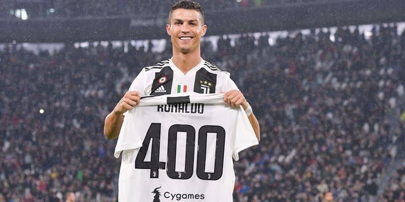 Ronaldo lolos ke awal Serie A terbaik