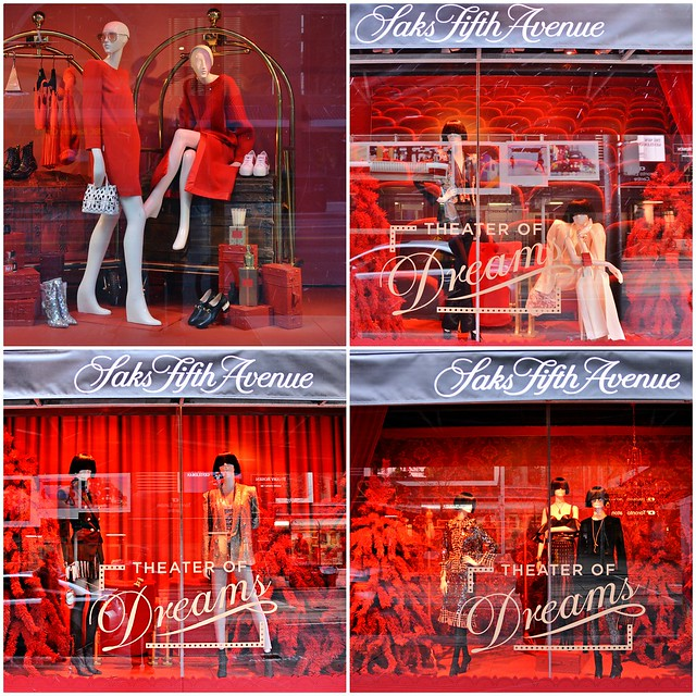 Theatre of Dreams, Christmas Window Display, Saks Fifth Avenue, Toronto, ON