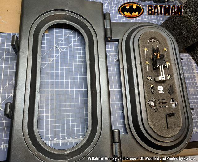 1/6 Scale 89 Batman Armory Custom (3D Print) 45155291895_9080f01b61_z