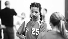 CMS SENIOR GIRLS VARSITY BASKETBALL CLUB vs WESTWOOD,  BLACK and WHITE, ACA PHOTO