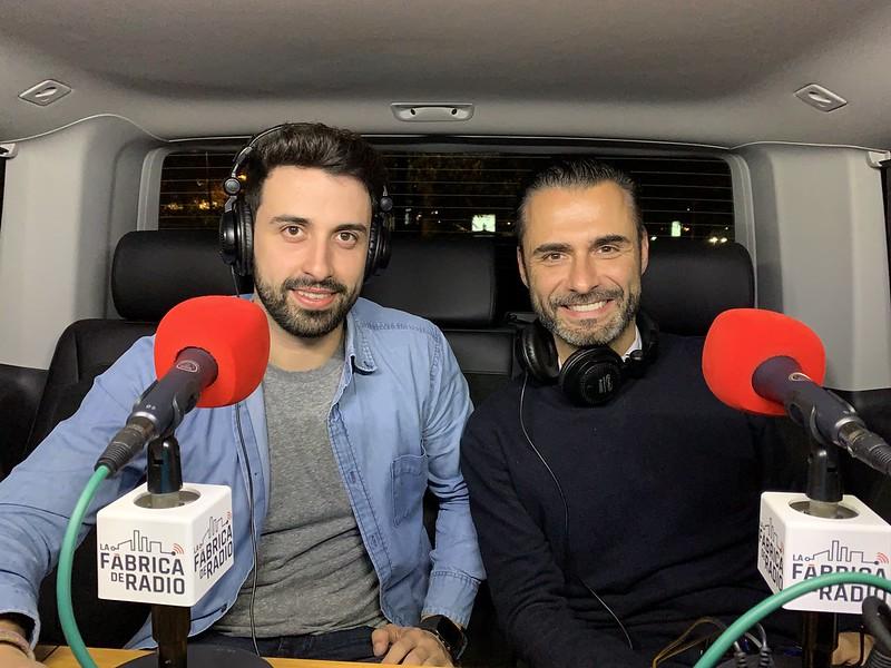 Foto 2018 11 22 Sergio Santamaria Rafa Serra Musicoctel La Fabrica de Radio