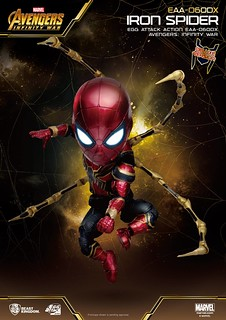 野獸國 Egg Attack Action 系列《復仇者聯盟3:無限之戰》鋼鐵蜘蛛豪華版 Iron Spider EAA-060DX